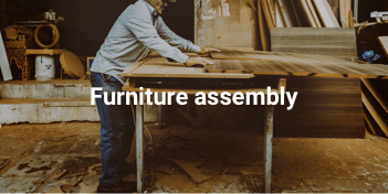 Furniture assembly in Dubai