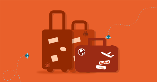 Pests and luggage