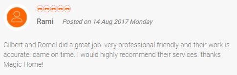 Magic home rating