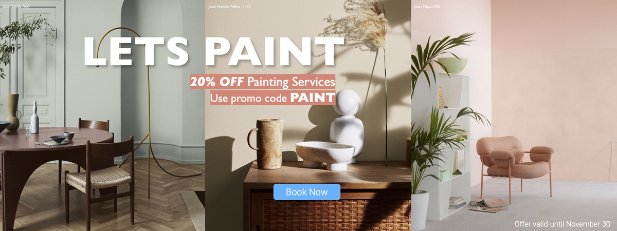 Painting 20 % discount offer