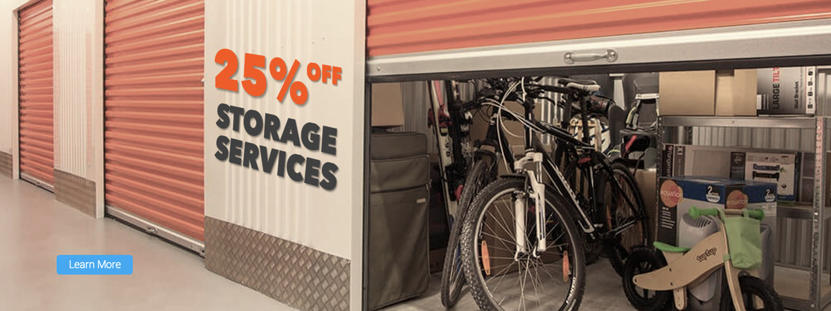 storage service promotion